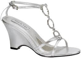 silver wedding shoes wedges silver touch ups arlene bridal shoes 63 99 whether you wear it