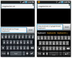keyboards for android install original android 2 3 gingerbread keyboard on os