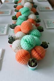 Baby Shower Center Pieces by Top 25 Best Coral Baby Shower Decorations Ideas On Pinterest