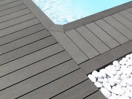 nettoyage terrasse bois composite lame composite pleine pour construire une terrasse en bois silvadec