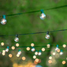 Indoor String Lights For Bedroom by Amazon Com Globe String Lights With 25 G40 Bulbs Taotronics