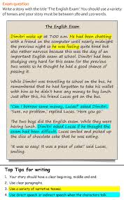Sample Of A Narrative Essay A Story Learnenglish Teens British Council