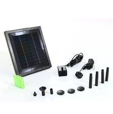solar powered water fountain pumps panels u0026 kits