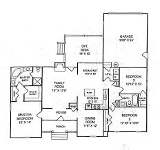 Floor Plan With Garage by Jordan Woods All Home Plans