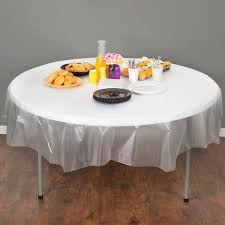 Coffee Table Cover Converting 700418 82 Clear Octyround Plastic Table Cover 12