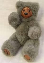 Wooden Faced Teddy Bears Robert Raikes Applause Teddy Bear Plush Stuffed Animal Wooden Face