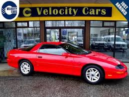 chevrolet camaro 1996 1996 chevrolet camaro coupe v6 34k s 200hp low mileage for sale in