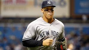 Aaron Judge Gary Sanchez Struggle In Game 1 Loss To Indians Newsday - aaron judge is the new face of the new york yankees