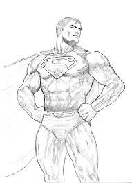 superman original sketch by veryveryluckyman on deviantart