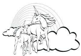 coloring pages of unicorns and fairies rainbow magic petal fairies coloring pages unicorn fairy as well of
