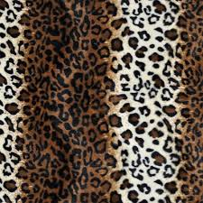 leopard fabric brown leopard velboa faux fur fabric onlinefabricstore net