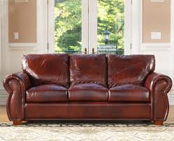 Leather Sleeper Sofa 4150 Stationary Sofa By Usa Premium Leather Furniture