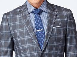 powder blue gray and powder blue plaid suit