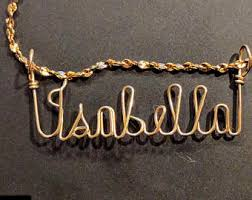 custom sted necklace hailey name necklace handcrafted cursive name in script gold