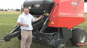 kuhn vb round baler review with rob barger youtube