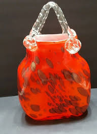 Murano Glass Purse Vase 75 Best Murano Glass Purse U0027s Blue U0026 Red Images On Pinterest