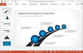 free project roadmap template powerpoint free editable agile