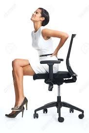 chaise de realisateur femme assise dos banque d u0027images vecteurs et illustrations libres