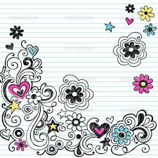 simple flower designs to draw on paper how to draw cool designs