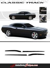 Dodge Challenger Accessories - 2015 dodge challenger side accent hash stripes cars pinterest