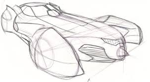batman car drawing batmobile sketch iv by speeddemon575 on deviantart