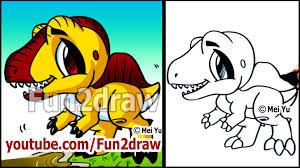 cute dinosaur how to draw spinosaurus youtube
