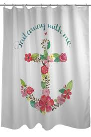Hawaiian Print Shower Curtains by Best 25 Anchor Shower Curtains Ideas On Pinterest Anchor