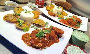 cuisine indienne recette filet de porc sauce tandoori et beignets à l indienne pakoras