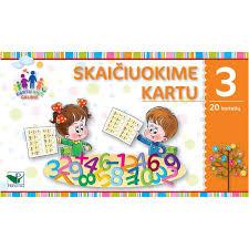 margarita cartoon skaičiuokime kartu 3 20 kortelių margarita jurevičienė toma