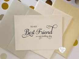 wedding wishes best friend to my best friend bestie on my wedding day wedding cards