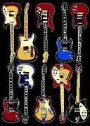 Guitar Rugs Music Rug Ebay