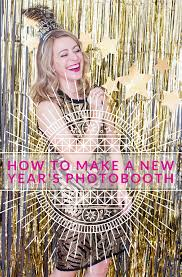 how to make a photo booth how to make a new year s photobooth a side of sweet