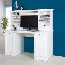 Schreibtisch Gut Und G Stig Schreibtisch Mit Aufsatz Fiona 33 Weiß Möbel Günstig Online Kaufen
