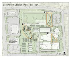 Barrington Floor Plan by Barrington Neighborhood Park Improvements Mejoras En El Parque