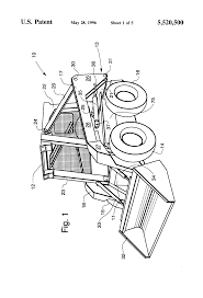 patent us5520500 method and apparatus for tilting a skid steer