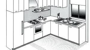 de cuisine gratuits plan de cuisine amenagee plan cuisine amacnagace gratuit plan