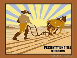organic farming agriculture powerpoint template demplates