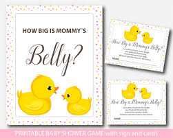 how big is a card table ducky how big is mommy s belly game rubber duck baby shower belly