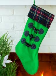 do it yourself christmas stockings hgtv