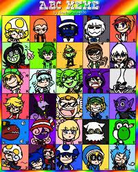 Alphabet Meme - alphabet meme super mario edition by redqueenmiku on deviantart