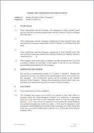 letter varying contract of employment professional resumes