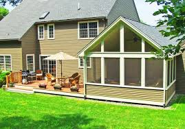 three season porch traditional with byfield room and deck combi