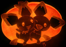 Meme Pumpkin Stencil - double pichu watermelon invasion pumpkin carving art know your