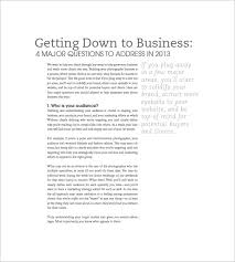 free business plan template pdf photography business plan template 7 free word excel pdf