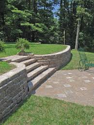 landscaping ideas for downward sloping backyard backyard fence ideas