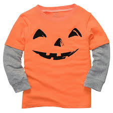 Toddler Halloween Shirt by Amazon Com Carter U0027s Baby Boys Pumpkin T Shirt Nb 7 Sz 3m