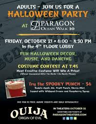 The Origins Of Halloween by Daytona Beach Paragon Theater Halloween Party For Adults October