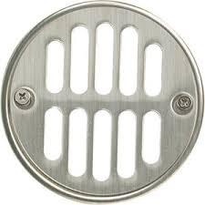 Bathroom Shower Drain Covers Mb604bn Tub Shower Drain Cover Bathroom Accessory Brushed