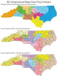 Nc Zip Code Map Common Cause U2013 Retired Judges Unveil New Nc Congressional Map