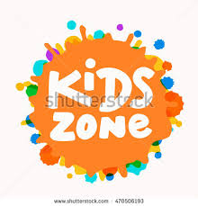kids zone sign stock vector 487185547 shutterstock